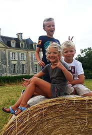 Kids Chateau la Mothaye B&B - Loire valley Gites