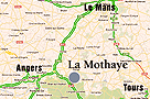 Chateau La Mothaye - B&B - Loire - Map - Brion - Kasteel