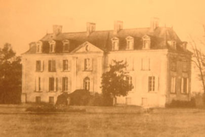 Old photo Chateau la Mothaye - B&B Chateau La Mothaye - Loire valley